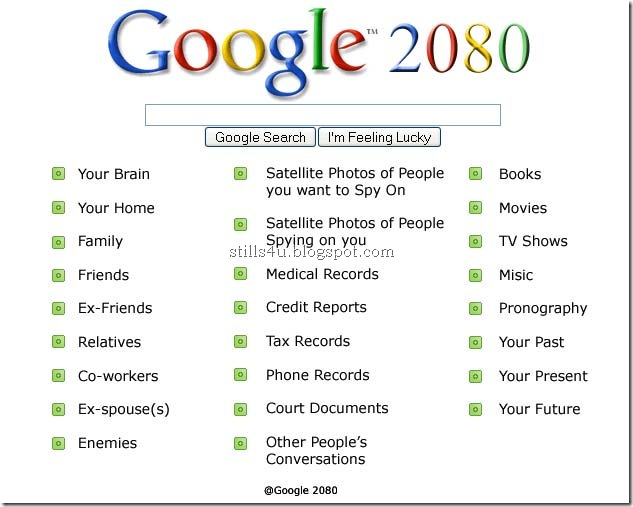 #23 Funny Picture Of The Day: Google in year 2080